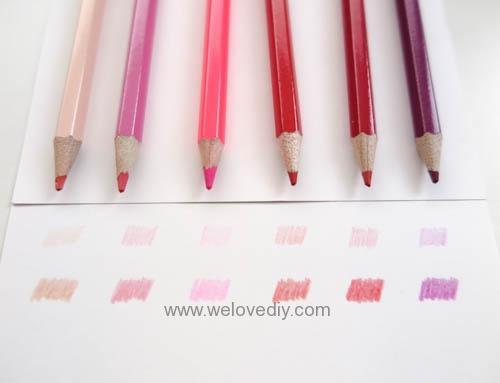STABILO 德國天鵝牌 Color系列 六角形色鉛筆 膠盒組 24色 開箱介紹 (6)