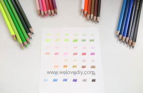 STABILO 德國天鵝牌 Color系列 六角形色鉛筆 膠盒組 24色 開箱介紹 (9)