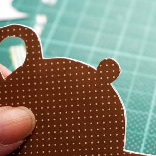 DIY 父親節茶壺造型手作卡片10