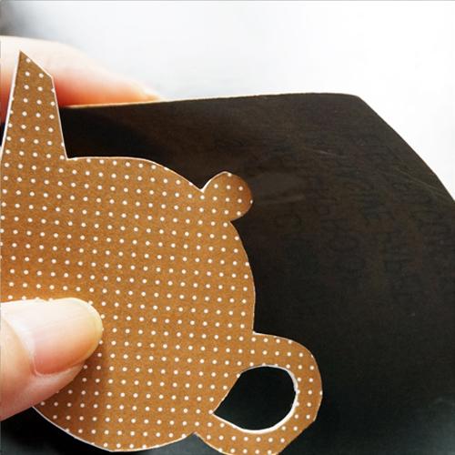 DIY 父親節茶壺造型手作卡片11