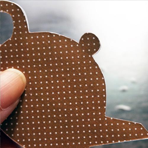 DIY 父親節茶壺造型手作卡片12