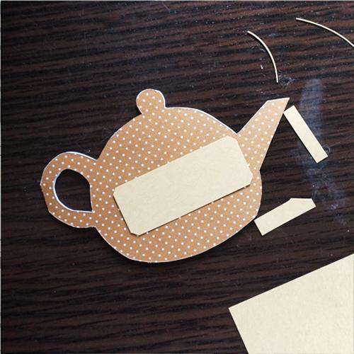 DIY 父親節茶壺造型手作卡片13