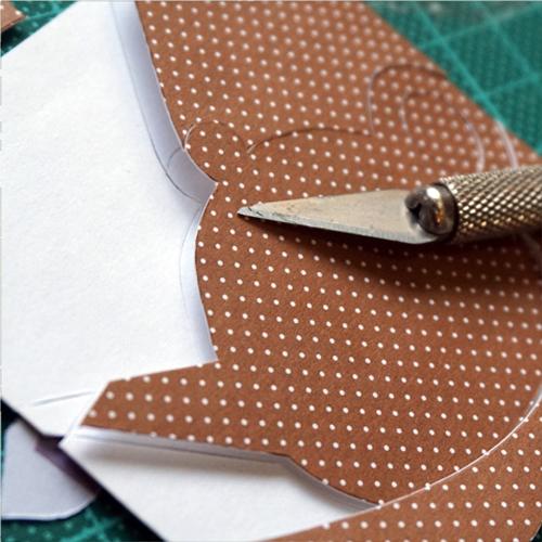 DIY 父親節茶壺造型手作卡片9